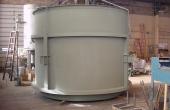 Fly ash silo