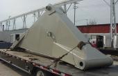 Forklift boom